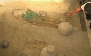 Descubren tumba de un adolescente de la dinastía Sipán