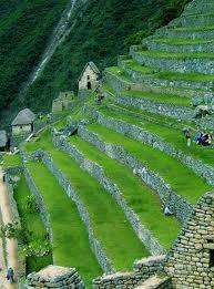 Machu Picchu Sector Agrícola Arqueología Del Perú