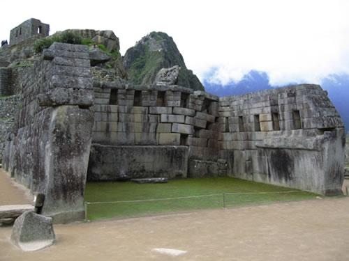 Machu Picchu 100 años: Templo principal