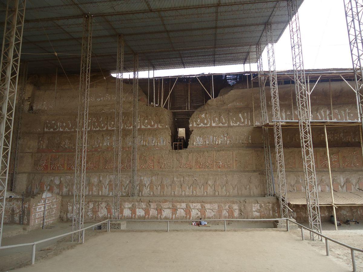 Se intervendrá la plaza ceremonial del frontis norte de la Huaca de la Luna