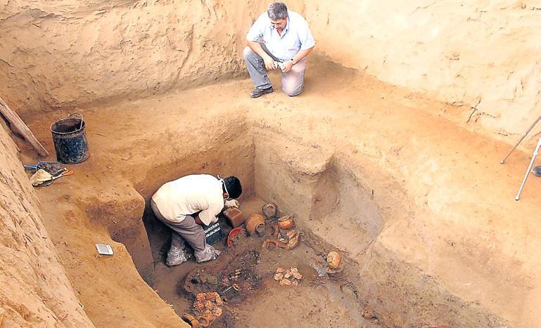 La tumba de un dignatario de la cultura Lambayeque revela sus tesoros después de 800 años