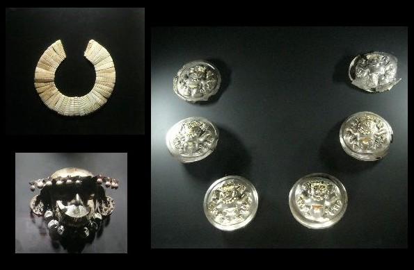 Inauguran muestra de piezas restauradas de tesoros del Señor de Ucupe y son exhibidos al público en museo Tumbas Reales del Señor de Sipán