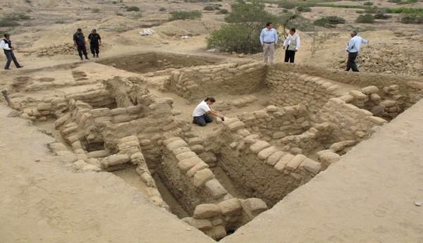 Lambayeque: hallan plaza ceremonial que sería del nieto de Naylamp