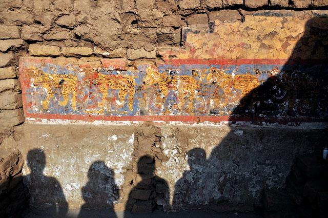 Figuras de felinos adornaban templo moche en Huaca de la Luna, Trujillo