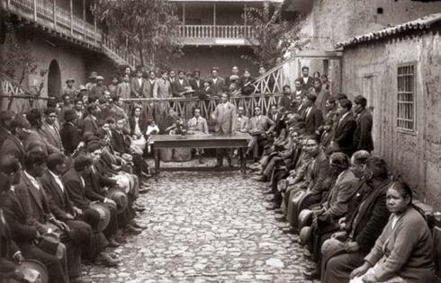 Martin-Chambi-Mitin-en-el-Gremio-de-los-Camaleros