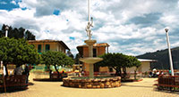 Plaza de Canchaque Piura