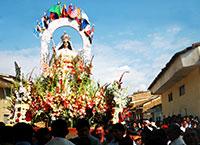 Procesión de la Virgen de las Mercedes Ancash