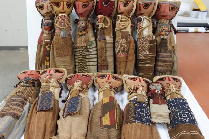Recuperan textiles de estilos prehispánicos en Tacna