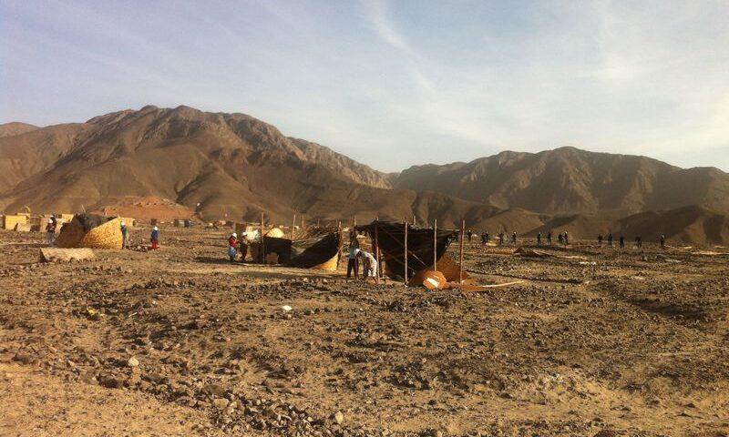 Desalojan la Zona Arqueológica Huaca La Calera 2, ubicada en área intangible de las Pampas De Nasca