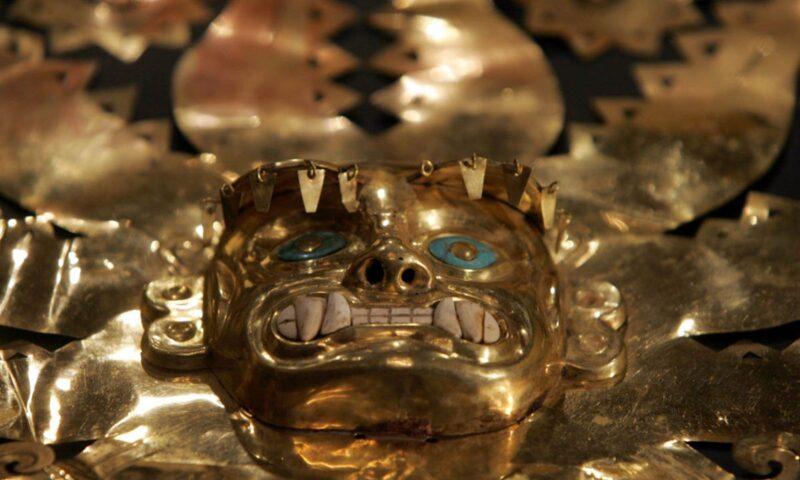La Mina: Un sitio funerario Moche saqueado