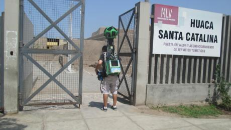Peruvian archaeological monuments registered for Google Street View