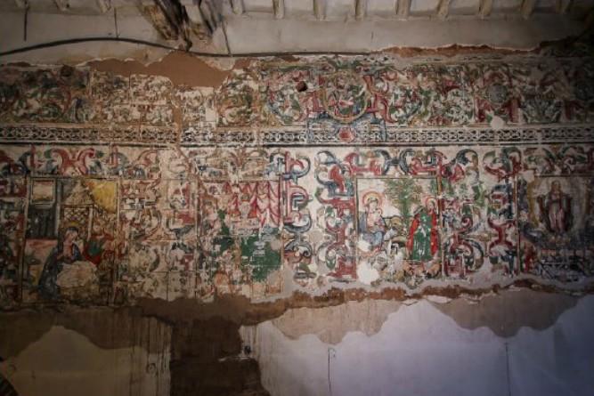 Cripta Mural San Francisco Asis Maras Cusco 3 Arqueologia Del Peru