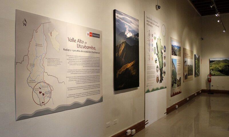Inauguran exposición itinerante: Valle alto del Utcubamba, Kuélap 1500 años de ocupación Chachapoya