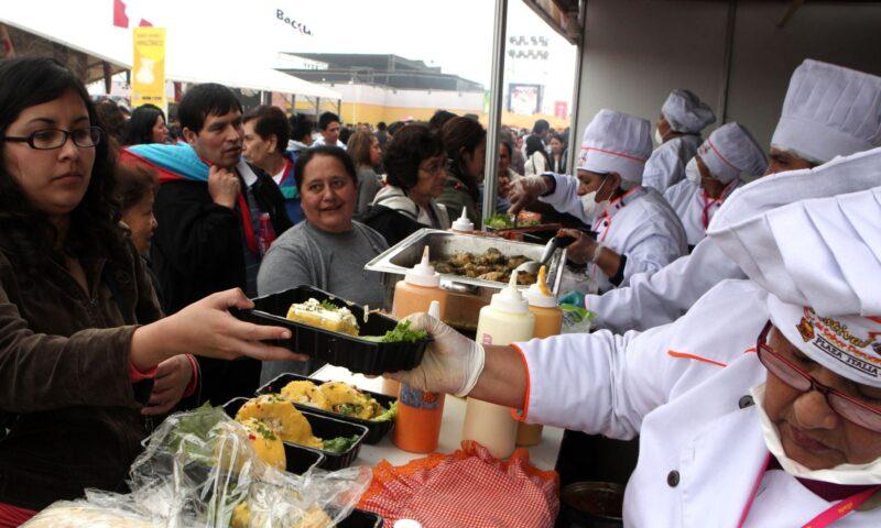 En Perú declaran de interés nacional VIII Feria Gastronómica Mistura 2015. Hoy se inauguró.