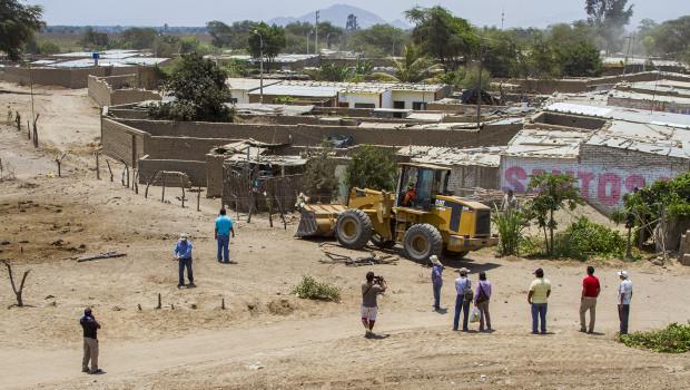 Retiran pacíficamente instalaciones precarias de San José de Moro