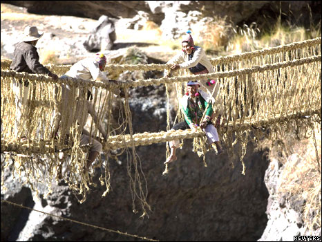 Q'eswachaca: Puente de tejido inca, legado ancestral