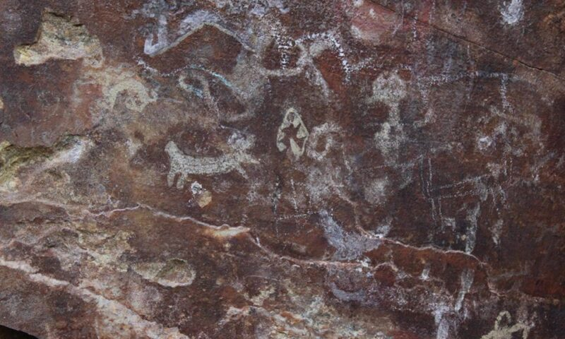 Hallan arte rupestre en Huailillas, Huamachuco, La Libertad