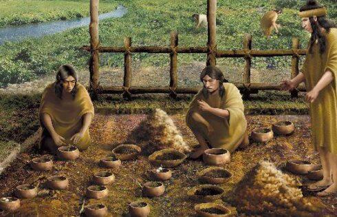 Los primeros científicos de la región estaban en Caral, Perú