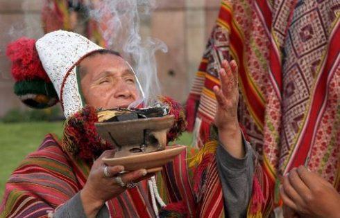 Cusco's celebrations start with Pachamama ritual act