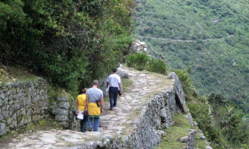 Inca Trail campsite restored after maintenance works