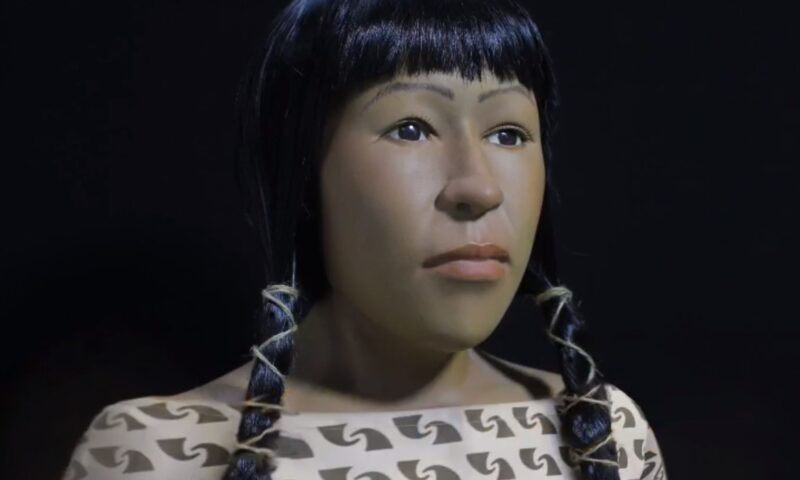 El rostro de la Señora de Cao