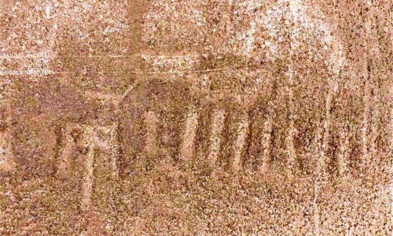 Nasca: descubren nuevo geoglifo de más de 2,000 años en el desierto