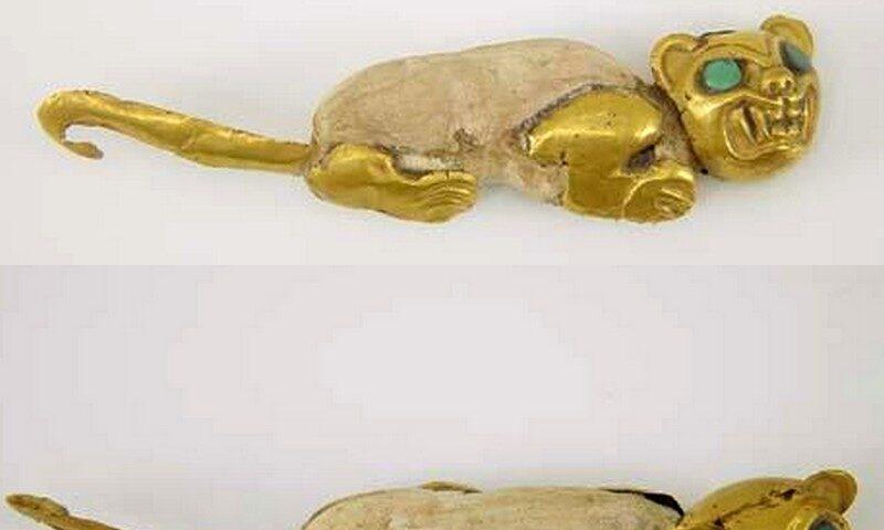Figurina de oro Mochica
